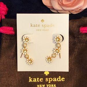 KATE SPADE Flower 🌸Ear Climbers